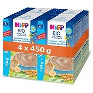 HiPP BIO Mliečna kaša na dobrú noc s banánom a sucháre - 4x 500g - Mliečna kaša
