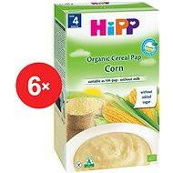 HiPP BIO Obilná kaša kukuričná - 6x 200g - nemliečna kaša