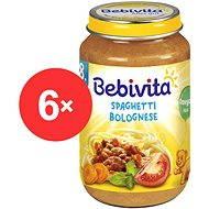 Bebivita Bolonské špagety – 6x 220 g - Príkrm