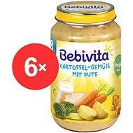Bebivita Zemiaky-zelenina s morčacím mäsom – 6× 220 g - Príkrm