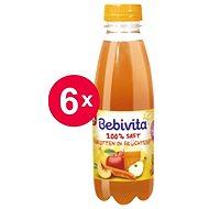 Bebivita Mrkvovo-ovocná šťava - 6x 500ml - Nápoj