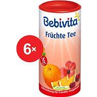 Bebivita Ovocný čaj - 6x 200g - Detský čaj