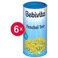 Bebivita Feniklový čaj - 6x 200g - Detský čaj