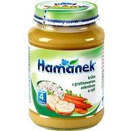Príkrm Hamánek Morka s gratinovanou zeleninou a ryžou 8× 190 g