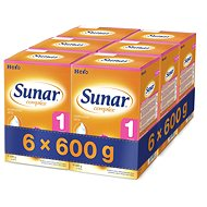 Sunar Complex 1 - 6× 600g - Dojčenské mlieko
