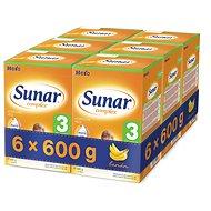 Sunar Complex 3 banán – 6× 600 g
