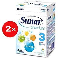 Sunar Premium 3 - 2x 600g + DÓZA - Dojčenské mlieko