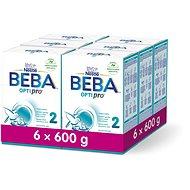 BEBA OPTIPRO 2 (6× 600 g) - Dojčenské mlieko