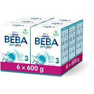 BEBA OPTIPRO 3 (6× 600 g) - Dojčenské mlieko