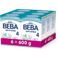 BEBA OPTIPRO 4 (6× 600 g) - Dojčenské mlieko