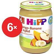 HiPP BIO Jablká s mangom a banánmi - 6 × 190 g - Príkrm