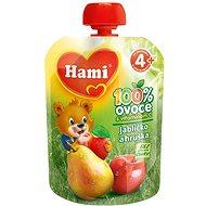 Hami ovocná kapsička jabĺčko a hruška 90 g - Detský príkrm
