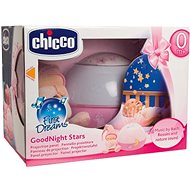 Chicco Projektor GoodNight Stars – ružový - Kolotoč nad postieľku