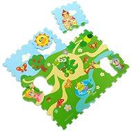 Chicco Puzzle penové Hrad 30 × 30 cm 9ks - Penové puzzle