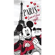 Jerry Fabrics Osuška Mickey a Minnie in Paris - Osuška