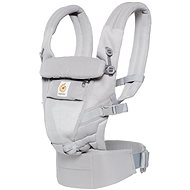 Ergobaby Adapt Nosidlo Cool Air Mesh – Pearl Grey - Nosidlo