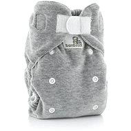Bamboolik Nočná nohavičková plienka – šedá - Detské plienkové nohavičky
