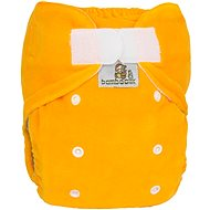 Bamboolik Nočná nohavičková plienka – žltá - Detské plienkové nohavičky