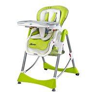 CARETERO Bistro green - Jedálenská stolička
