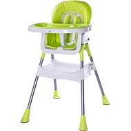 CARETERO Pop green - Jedálenská stolička