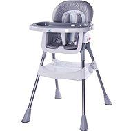 CARETERO Pop grey - Jedálenská stolička