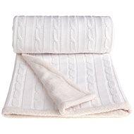 T-tomi deka WINTER biela - Detská deka
