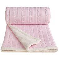 T-tomi deka WINTER ružová - Detská deka