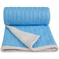 T-tomi deka WINTER modrá - Detská deka