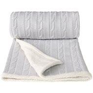T-tomi deka Winter sivá - Detská deka