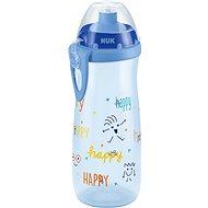 NUK FC Fľaša PP Sports Cup 450 ml - šedá - Fľaša na pitie pre deti