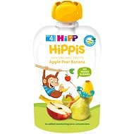 HiPP BIO 100% ovocie Jablko-Hruška-Banán 100 g - Detský príkrm