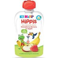 HiPP BIO 100% ovocie Jablko-Banán-Jahoda 100 g - Detský príkrm