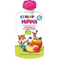 HiPP BIO 100% ovoce Jablko-Broskev-Lesní ovoce 100 g - Detský príkrm