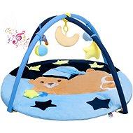 PlayTo Hracia deka s melódiou PlayTo spiaci medvedík modrá - Hracia deka