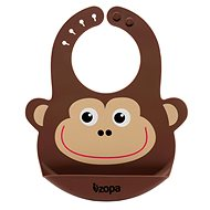 ZOPA Silicone Bib - Monkey - Bib