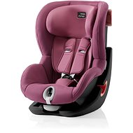 Britax Römer King II 2018, Black – Wine Rose - Autosedačka