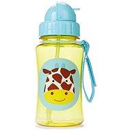 Skip hop Zoo Fľaštička so slamkou – Žirafa - Fľaša na pitie pre deti