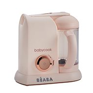 Beaba Steamer + mixér BABYCOOK SOLO limitovaná edícia PINK