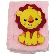 Fisher-Price Deka s levom - Detská deka