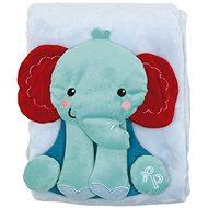 Fisher-Price Deka so slonom - Detská deka
