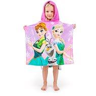 Jerry Fabrics Frozen pink - Detská osuška s kapucňou
