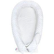 New Baby Luxusné hniezdočko pre bábätko z Minky - biele - Hniezdočko pre bábätko