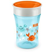 NUK hrnček Magic Cup 230 ml oranžový - Detský hrnček