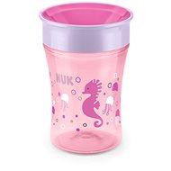 NUK hrnček Magic Cup 230 ml ružový - Detský hrnček