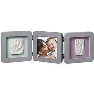 Baby Art Rámik Double Print Frame Grey - Fotorámik
