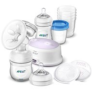Philips AVENT Elektrická odsávačka Natural  + súprava pre dojčenie - Odsávačka materského mlieka