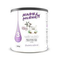 NAŠE MLÉKO 3 750 g - Dojčenské mlieko