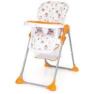 Gmini Simply SHELL oranžová - Jedálenská stolička