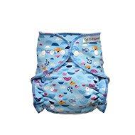 T-tomi Nohavičkové plienky, prebaľovacia súprava patentky, blue Sea - Detské plienkové nohavičky