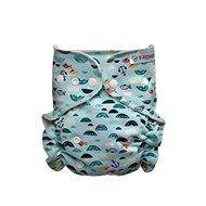 T-tomi Nohavičkové plienky, prebaľovacia súprava patentky, green Sea - Detské plienkové nohavičky
